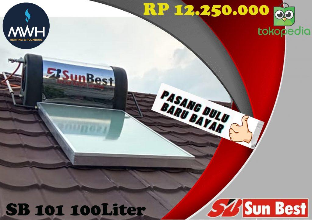 Solar Sunbest 100 liter